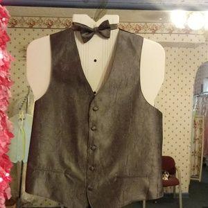 Vest and tie